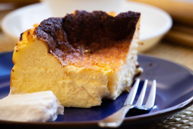 18cm レシピ バスク ケーキ チーズ