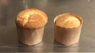 ケーキ しぼむ パン スフレ